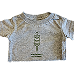 Click here for more information about Heather Grey Wheat Stalk Onesie