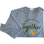 Click here for more information about We Are In This Together Long-sleeve T-shirt in Grey